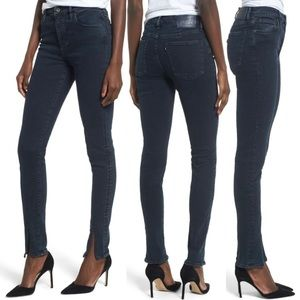 LEVIS SILVER High Rise Skinny Jeans